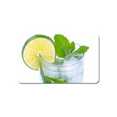 Cold Drink Lime Drink Cocktail Magnet (name Card)