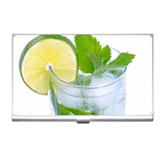 Cold Drink Lime Drink Cocktail Business Card Holders