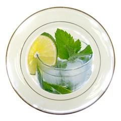 Cold Drink Lime Drink Cocktail Porcelain Plates