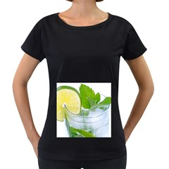 Cold Drink Lime Drink Cocktail Women s Loose Fit T Shirt (black)