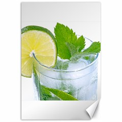 Cold Drink Lime Drink Cocktail Canvas 20  X 30