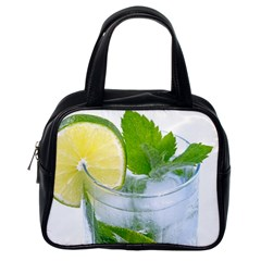 Cold Drink Lime Drink Cocktail Classic Handbags (one Side)