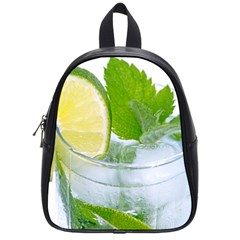 Cold Drink Lime Drink Cocktail School Bags (small)