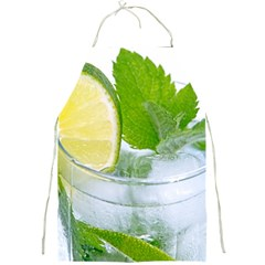 Cold Drink Lime Drink Cocktail Full Print Aprons