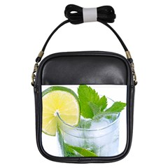 Cold Drink Lime Drink Cocktail Girls Sling Bags