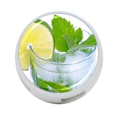Cold Drink Lime Drink Cocktail 4 Port Usb Hub (one Side)