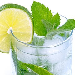 Cold Drink Lime Drink Cocktail Magic Photo Cubes