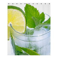 Cold Drink Lime Drink Cocktail Shower Curtain 60  X 72  (medium)