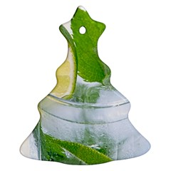 Cold Drink Lime Drink Cocktail Ornament (christmas Tree)