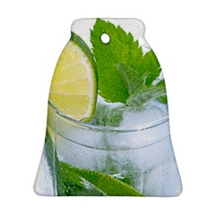 Cold Drink Lime Drink Cocktail Bell Ornament (2 Sides)
