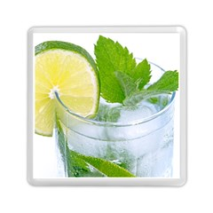 Cold Drink Lime Drink Cocktail Memory Card Reader (square)