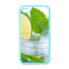 Cold Drink Lime Drink Cocktail Apple Iphone 4 Case (color)