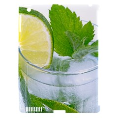 Cold Drink Lime Drink Cocktail Apple Ipad 3/4 Hardshell Case (compatible With Smart Cover)