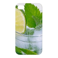 Cold Drink Lime Drink Cocktail Apple Iphone 4/4s Premium Hardshell Case