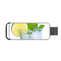 Cold Drink Lime Drink Cocktail Portable Usb Flash (two Sides)