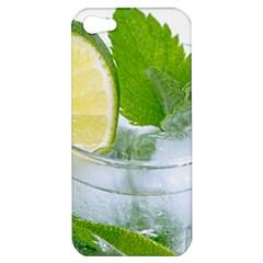 Cold Drink Lime Drink Cocktail Apple Iphone 5 Hardshell Case