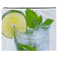 Cold Drink Lime Drink Cocktail Cosmetic Bag (xxxl)