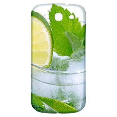 Cold Drink Lime Drink Cocktail Samsung Galaxy S3 S Iii Classic Hardshell Back Case