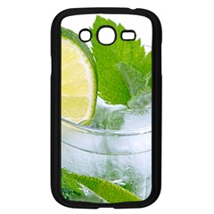 Cold Drink Lime Drink Cocktail Samsung Galaxy Grand Duos I9082 Case (black)