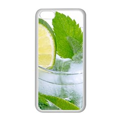 Cold Drink Lime Drink Cocktail Apple Iphone 5c Seamless Case (white)