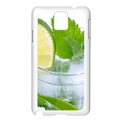 Cold Drink Lime Drink Cocktail Samsung Galaxy Note 3 N9005 Case (white)
