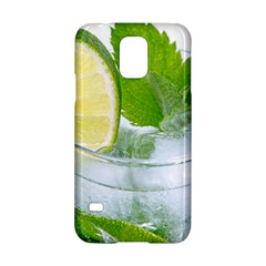 Cold Drink Lime Drink Cocktail Samsung Galaxy S5 Hardshell Case