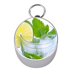 Cold Drink Lime Drink Cocktail Mini Silver Compasses