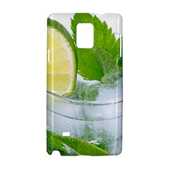 Cold Drink Lime Drink Cocktail Samsung Galaxy Note 4 Hardshell Case