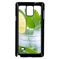 Cold Drink Lime Drink Cocktail Samsung Galaxy Note 4 Case (black)