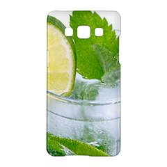 Cold Drink Lime Drink Cocktail Samsung Galaxy A5 Hardshell Case