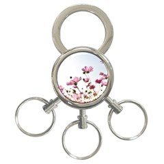 Flowers Plants Korea Nature 3 Ring Key Chains