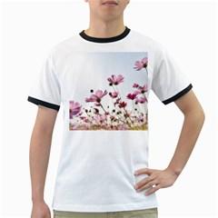 Flowers Plants Korea Nature Ringer T Shirts