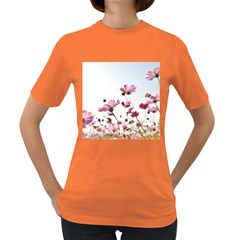 Flowers Plants Korea Nature Women s Dark T Shirt