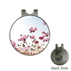Flowers Plants Korea Nature Hat Clips with Golf Markers