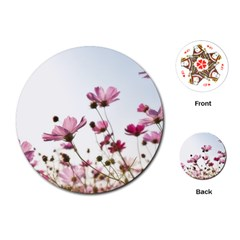 Flowers Plants Korea Nature Playing Cards (round)