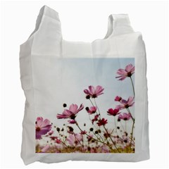 Flowers Plants Korea Nature Recycle Bag (one Side)
