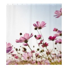Flowers Plants Korea Nature Shower Curtain 66  X 72  (large)