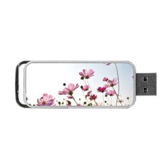 Flowers Plants Korea Nature Portable Usb Flash (two Sides)