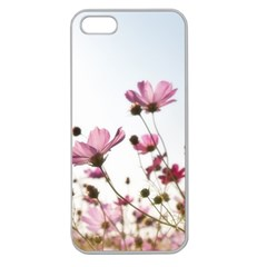 Flowers Plants Korea Nature Apple Seamless Iphone 5 Case (clear)