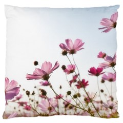 Flowers Plants Korea Nature Standard Flano Cushion Case (two Sides)