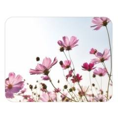 Flowers Plants Korea Nature Double Sided Flano Blanket (large)