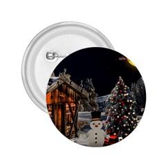 Christmas Landscape 2 25  Buttons