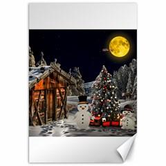 Christmas Landscape Canvas 20  X 30