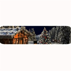 Christmas Landscape Large Bar Mats