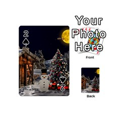 Christmas Landscape Playing Cards 54 (mini)