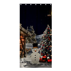 Christmas Landscape Shower Curtain 36  X 72  (stall)
