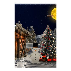 Christmas Landscape Shower Curtain 48  X 72  (small)