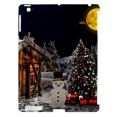 Christmas Landscape Apple Ipad 3/4 Hardshell Case (compatible With Smart Cover)