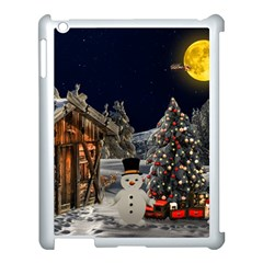Christmas Landscape Apple Ipad 3/4 Case (white)
