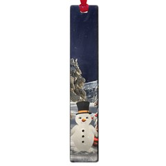 Christmas Landscape Large Book Marks